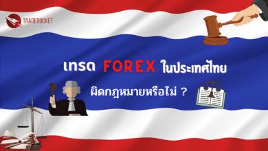 เทรด Forex ในไทย ผิดกฎหมายหรือไม่