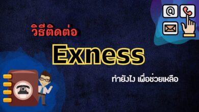 วิธีติดต่อ Exness ทำยังไง